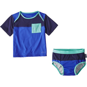 Patagonia Little Sol Swimsuit Children blue